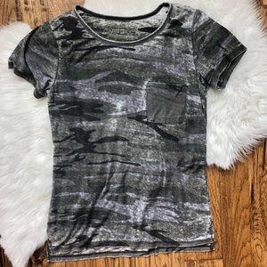 LOL Vintage Camo Burnout T-shirt